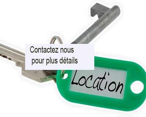 Appartement personnel Location appartement R+1 Rental apartment R+1