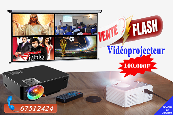 VENTE FLASH VIDEOPROJECTEUR