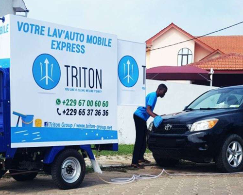 Triton group: Lavage mobile