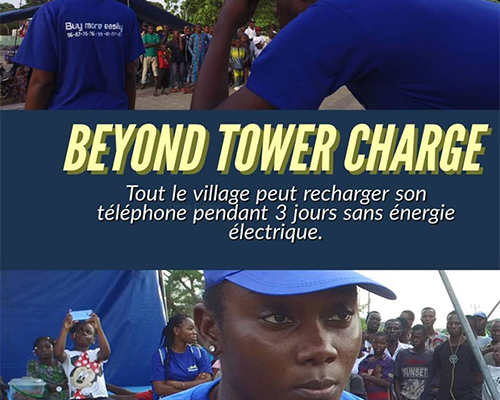 BEYOND TOWER CHARGE energie technologie energy technology innovation invention benin alliance partnership  innovation invention bénin alliance partenariat