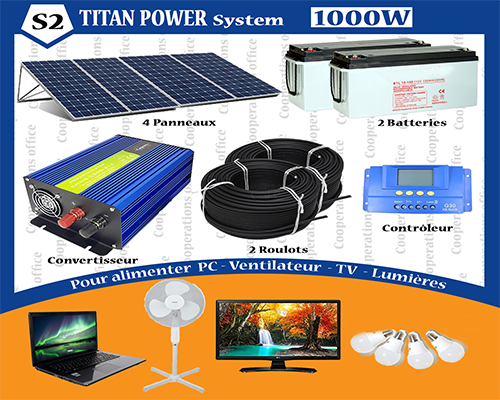 TITAN POWER SYSTEME 1000 W