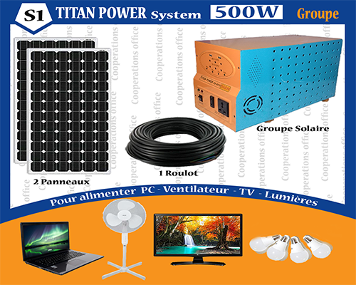 TITAN POWER SYSTEM 500 W