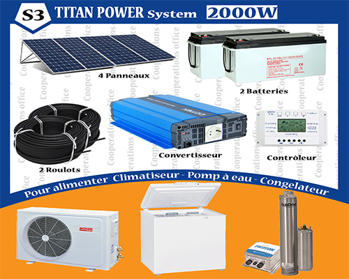 TITAN POWER SYSTEME 2000 W