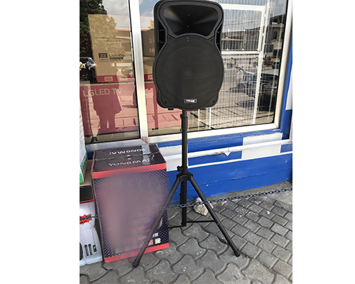 Hisonic MS-15D2 trolley speake Speaker