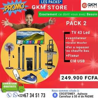 Pack 3/ GKM Store 67345173 Pack