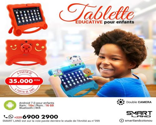 Tablette Educative/ Smart Land Tablettes pour enfants, tablette éducative, tablette