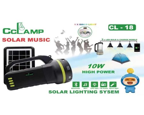 Cclamp Solar  CL-18 kit solaire